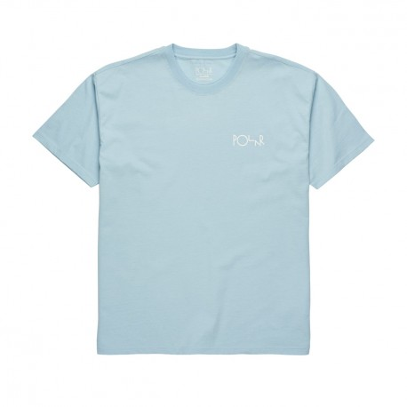 T-SHIRT POLAR STROKE LOGO - LIGHT BLUE