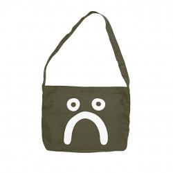 SAC TOTE BAG POLAR HAPPY SAD - OLIVE