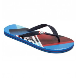 TONG DC SHOES SPRAY GRAFFIK - BLUE / RED - HOMME