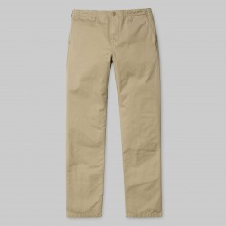 PANTALON CARHARTT WIP CLUB PANT - LEATHER STONE WASHED