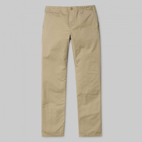 PANTALON CARHARTT CLUB PANT - LEATHER STONE WASHED
