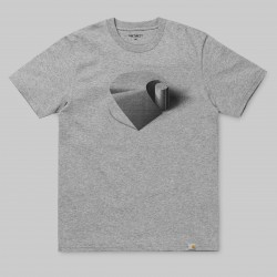 T-SHIRT CARHARTT WIP RAMP S/S - GREY HEATHER BLACK