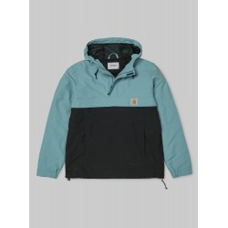 VESTE CARHARTT WIP NIMBUS TWO TONE (SUMMER) - SOFT TEAL BLACK