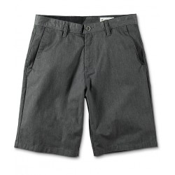 SHORT VOLCOM FRICKIN CHINO - CHARCOAL HEATHER