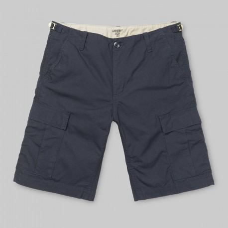 SHORT CARHARTT WIP AVIATION - DARK NAVY RINSED