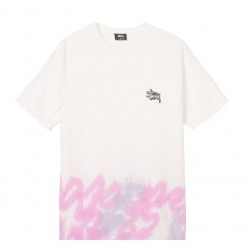 T-SHIRT STÜSSY CLOUDS TD - NATURAL