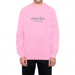 SWEAT HUF 420 TROPICAL PLANT - PINK