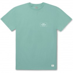 T-SHIRT HUF 420 SMOKERS LOUNGE STRAINS - MINT