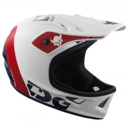 CASQUE TSG INTEGRAL SQUAD GRAPHIC DESIGN TRAP - WHITE