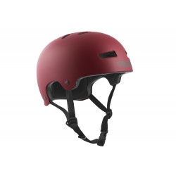 CASQUE TSG EVOLUTION SOLID COLOR - SATIN OXBLOOD