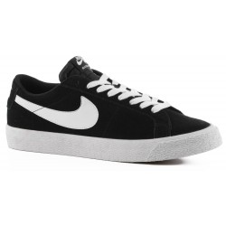 CHAUSSURES NIKE SB BLAZER ZOOM LOW - BLACK WHITE