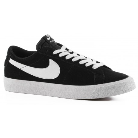 CHAUSSURES NIKE SB BLAZER ZOOM LOW - BLACK WHITE GUM