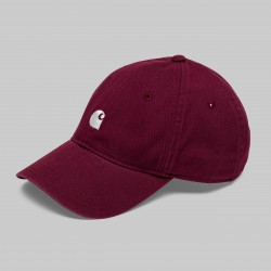 CASQUETTE CARHARTT MAJOR CAP - AMARONE WHITE