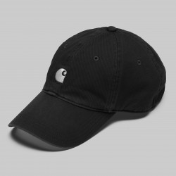 CASQUETTE CARHARTT WIP MAJOR CAP - BLACK WHITE