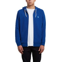 SWEAT VOLCOM ICONIC ZIP HOOD - CAMPER BLUE