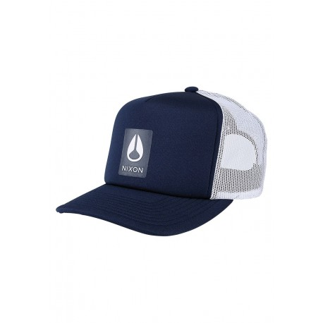 CASQUETTE NIXON LOW TRUCKER - NAVY WHITE