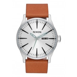 MONTRE NIXON SENTRY - SILVER TAN