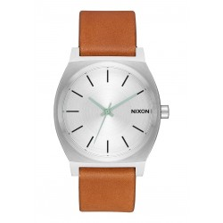 MONTRE NIXON TIME TELLER - SILVER TAN