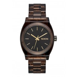 MONTRE NIXON MEDIUM TIME TELLER ACETATE - BROWN
