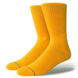 CHAUSSETTES STANCE UNCOMMON SOLIDS ICON - GOLD