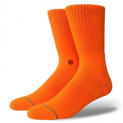 CHAUSSETTES STANCE UNCOMMON SOLIDS ICON - ORANGE