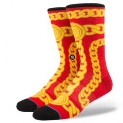 CHAUSSETTES STANCE ANTHEM LINX - RED