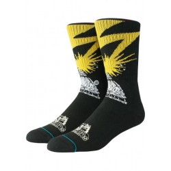 CHAUSSETTES STANCE FOUNDATION BAD BRAINS - BLACK