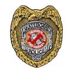PATCH POWELL PERALTA - SK8 POLICE