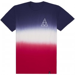T-SHIRT HUF TT GRADIENT - TWILIGHT BLUE