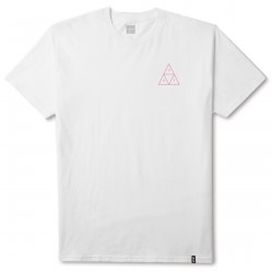 T-SHIRT HUF GOOD TRIPS TRIANGLE - WHITE