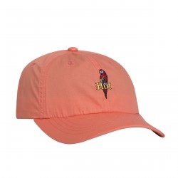 CASQUETTE HUF PARROT CURVED VISOR - CORAL / HAZE