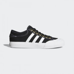 CHAUSSURES ADIDAS MATCHCOURT - BLACK WHITE GOLD
