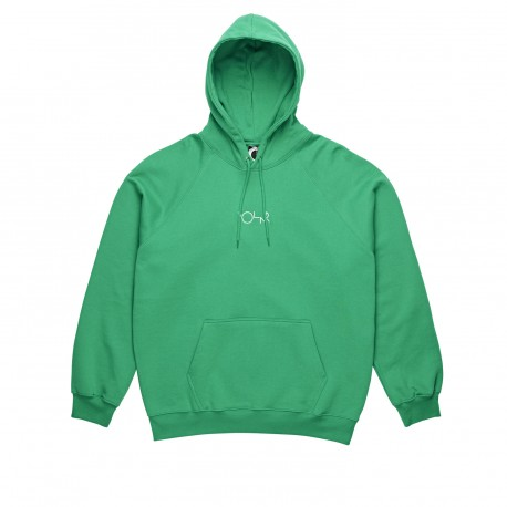 SWEAT POLAR HOOD DEFAULT - GREEN