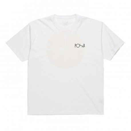 T-SHIRT POLAR FILL LOGO - WHITE