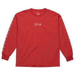 T-SHIRT POLAR RACING LS - RED