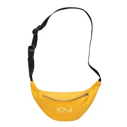 SAC BANANE POLAR HIP BAG SCRIPT LOGO - YELLOW