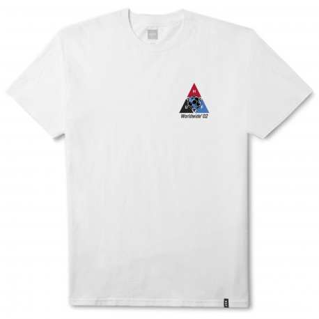 T-SHIRT HUF WC TAKEOVER WHITE