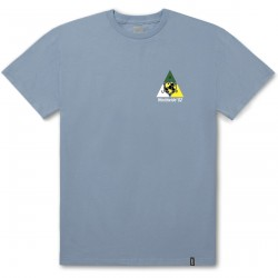 T-SHIRT HUF WC TAKEOVER POWDER BLUE