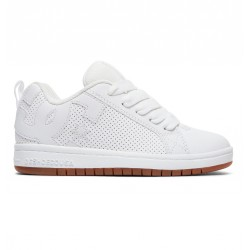 CHAUSSURE DC SHOES KID COURT GRAFFIK - WHITE