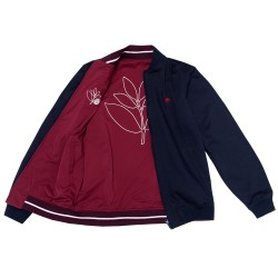 VESTE MAGENTA REVERSIBLE - NAVY / RED