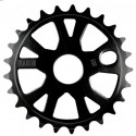 COURONNE RADIO BIKE ALLOY 25T - BLACK
