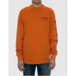 T-SHIRT JACKER L/S DELICIOUS - ORANGE