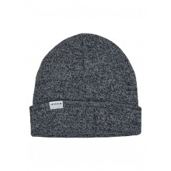 BONNET NIXON LOGAN BEANIE - BLACK HEATHER