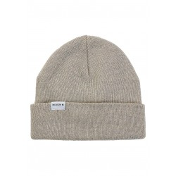 BONNET NIXON LOGAN BEANIE - BONE HEATHER