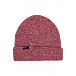 BONNET NIXON LOGAN BEANIE - RED HEATHER