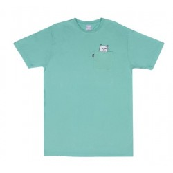 T-SHIRT RIPNDIP LORD NERMAL POCKET TEE - OVER DYED MINT