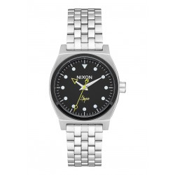 MONTRE NIXON MEDIUM TIME TELLER - BLACK / ABYSS