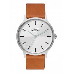 MONTRE NIXON PORTER LEATHER - SILVER TAN