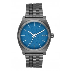 MONTRE NIXON TIME TELLER - NAVY GUNMETAL