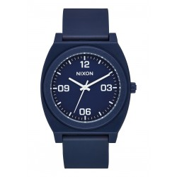 MONTRE NIXON TIME TELLER P CORP - MATTE BLACK WHITE